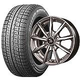スタッドレスタイヤ155/65R14・ホイール1本セット 14インチ BRIDGESTONE(ブリヂストン)ブリザック REVO GZ              155/65R14 75Q+BSJ RX 1445 4H100+45