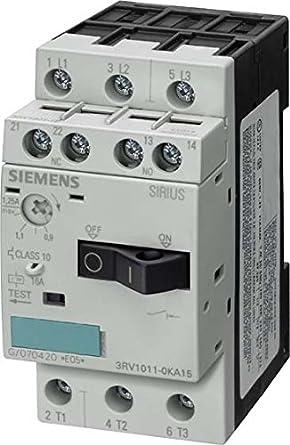 Siemens 3RV1011 1EA15 Leistungsschalter Für Motorschutz, S00