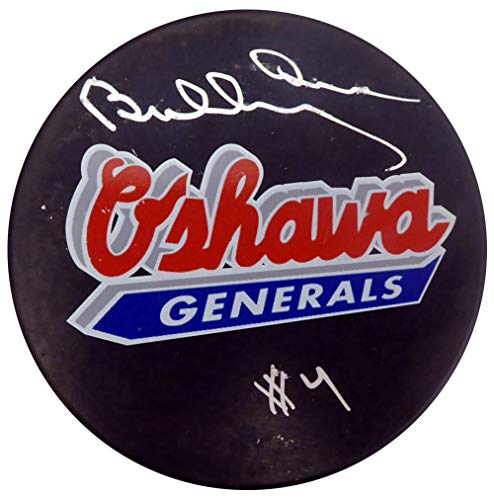 - Bobby Orr Autographed Oshawa Generals Hockey Puck Beckett BAS #F98258