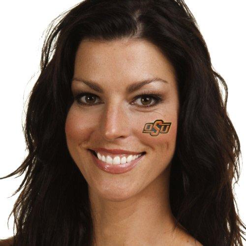 NCAA Oklahoma State Cowboys 4-Pack Temporary Tattoos - -