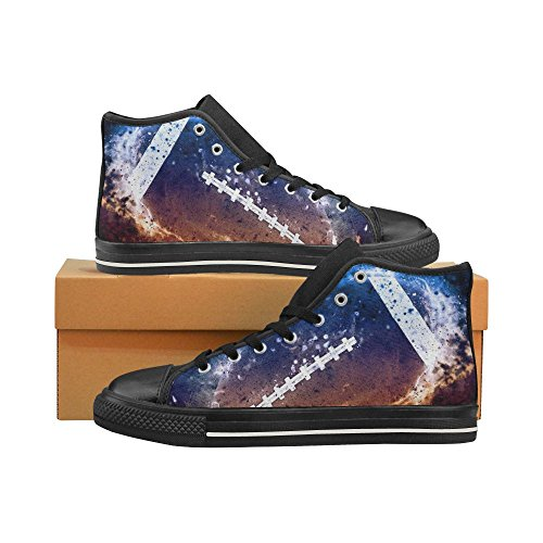 D-Story Custom American Football Sport Mens Classic High Top Canvas Shoes Fashion Sneaker