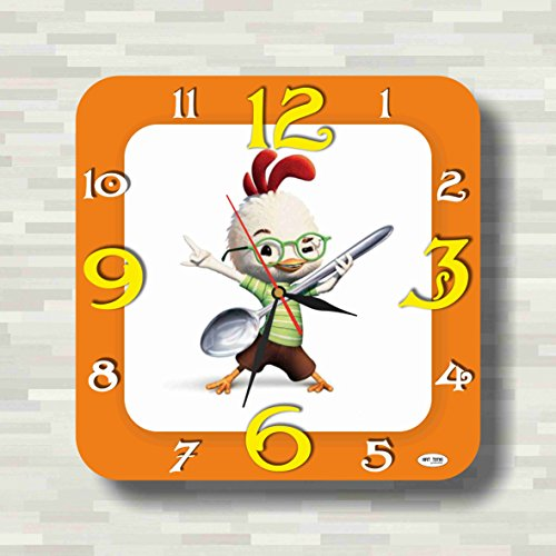 Picture Of A Chicken Costume (Chicken Little 11.8'' Handmade unique Wall Clock - Get unique décor for home or office – Best gift ideas for kids, friends, parents)