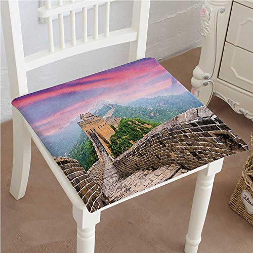 Cushion New of China Fantasy Sky on Cultural Architecture Section Surrounded by Grassland Print Multi Indoor Garden Patio Home Kitchen Office Chair Pads Seat Pads 26
