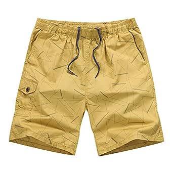 Pantalón Cargo Pantalones Cortos para Hombres con Cinturón ...