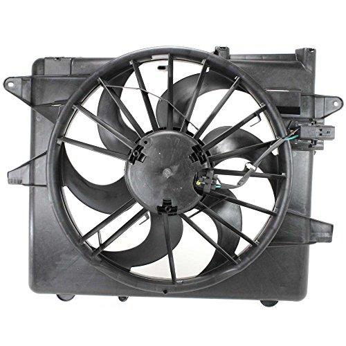 Radiator Fan Assembly for MUSTANG 05-12 ()