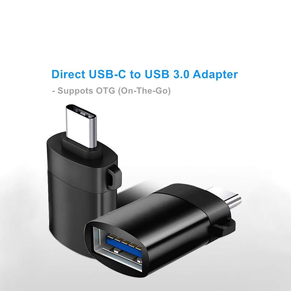 Amazon.com: GLUBEE Adaptador USB-C a USB 3.0 con llavero ...