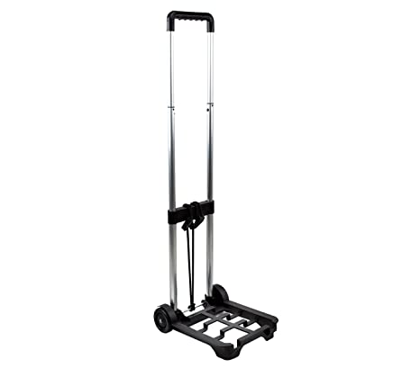 153956 Carro porta maletas plegable EVERTOP 90x30x24 cm para maletas de viaje