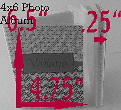 Airplane Photo Album IA#113 4x6 or 5x7 Personalized Baby Shower Birthday Gift Grandma's Brag Book Boy Blue Orange Chevron by JaDazzles (Image #4)
