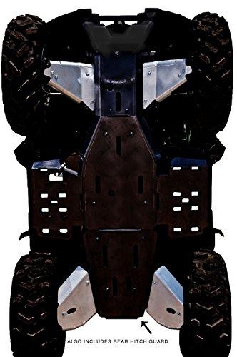 Yamaha Grizzly 550/700 Aluminum 5 Piece A-arm & CV Boot Guard Set by Ricochet 2007, 2008, 2009, 2010, 2011, 2013