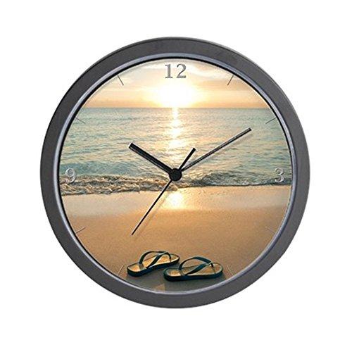 CafePress Beach Clock Unique Decorative 10