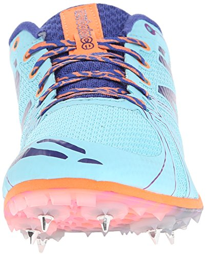New Balance Women's WMD500V3 Middle Distance Spike Shoe Blue/Purple low shipping fee for sale OrU8CjLPV