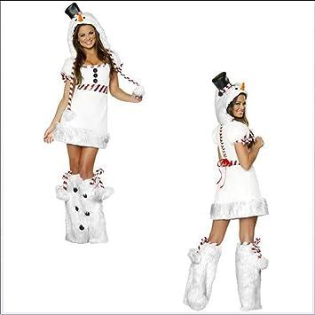 Disfraz de pingüino de Navidad con muñeco de nieve blanco para ...