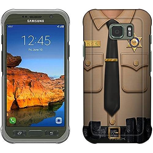Samsung Galaxy S7 Active Case, Snap On Cover by Trek Sheriff Uniform Slim Case Sales