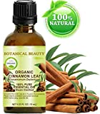 ORGANIC CINNAMON LEAF ESSENTIAL OIL. 100% Pure Therapeutic Grade, Premium Quality, Undiluted. 0.33 Fl.oz.- 10 ml. review