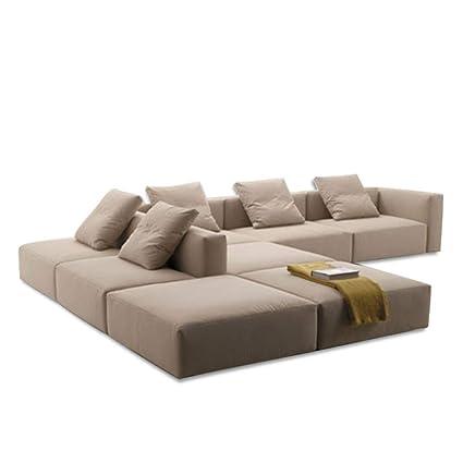 Amazon.com: XINTONGDA New Furniture European Corner Leather ...