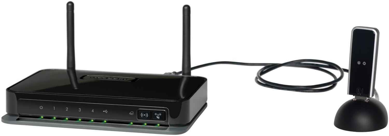 Routeur NETGEAR MBRN3000 NOIR 4PORTS