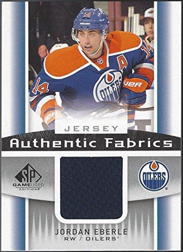 Jordan Eberle 2013-14 Upper Deck UD SP Game Used Authentic Fabrics Jersey ()