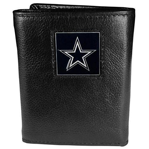 NFL Dallas Cowboys Genuine Leather Tri-fold - Dallas Cowboys Trifold Wallet