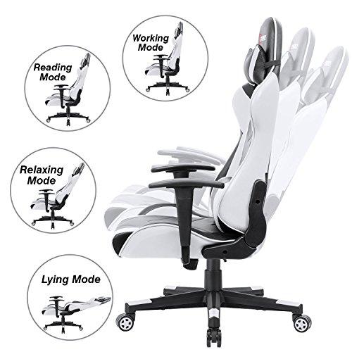 Devoko Ergonomic Gaming Chair Racing Style Adjustable