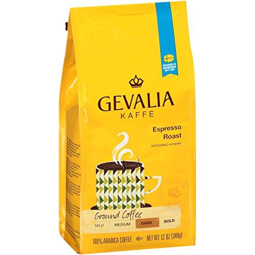 Gevalia Ground Coffee - Gevalia Ground Coffee Espresso Roast Ground Coffee,12 oz Bag (Pack of 6)