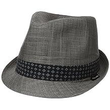 Ben Sherman mens Textured Linen Fedora Hat
