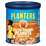 #10: Planters Flavored Peanuts, Salted Caramel, 6 Ounce Canister (Pack of 8)