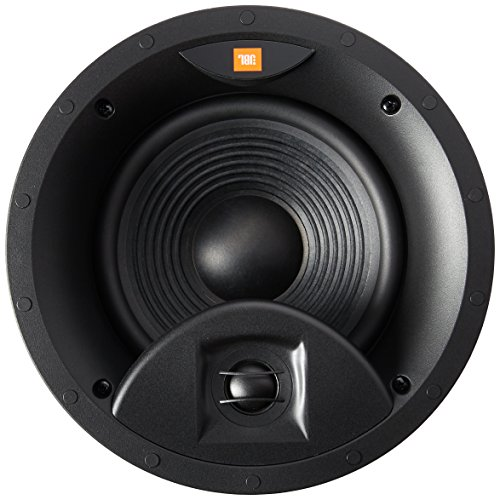 JBL Surround Premium In-Ceiling Home Speaker, Set of 1, White (STUDIO 2 8IC) by JBL