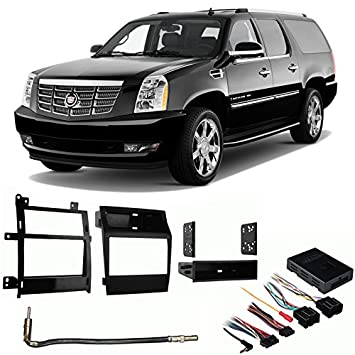 51Eli7K1MzL._SY355_ amazon com fits cadillac escalade 2007 2011 aftermarket harness 2007 escalade stereo wiring diagram at gsmportal.co