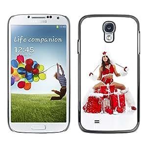 YOYO Slim PC / Aluminium Case Cover Armor Shell Portection //Christmas Holiday Sexy Hot Girl Woman Gifts 1012 //Samsung Galaxy S4