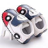 WAYLONGPLUS Infant Prewalker Sneaker Car Type Anti-skid Soft Shoes (Size 13)
