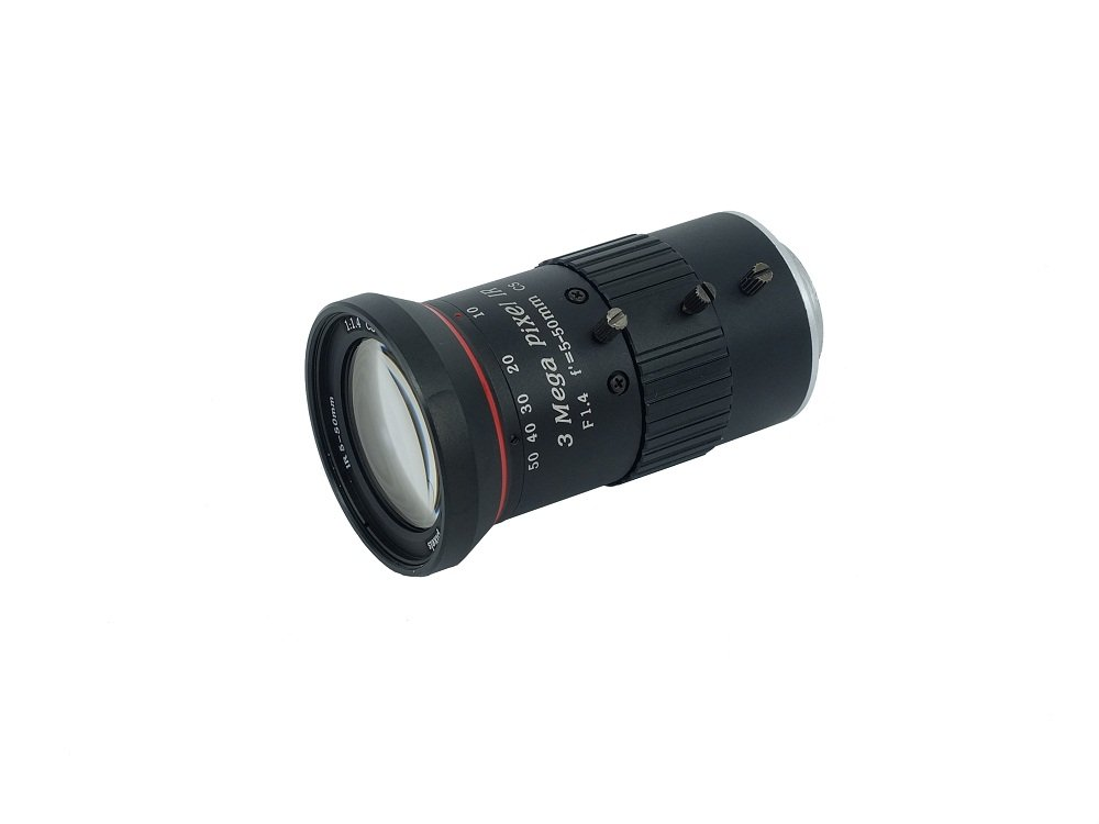 Zowietek CS Mount, Zoom CS Lens, focal length 5-50mm by Zowietek