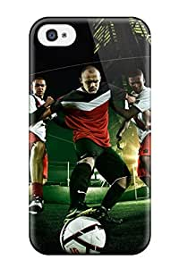 Tough Iphone NyCKkfz9490jrkeW Case Cover/ Case For Iphone 4/4s(football)