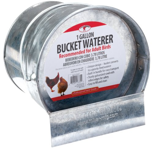 steel chicken waterer - 4