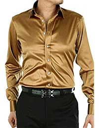 Amazon.com: Gold - Dress Shirts / Shirts: Clothing, Shoes & Jewelry