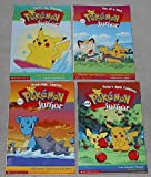 img - for Pokemon Junior chapter series set: (#1: Surf's Up, Pikachu!; #5: Two of a Kind; #10: Good-bye, Lapras; #14: Pichu's Apple Company) book / textbook / text book
