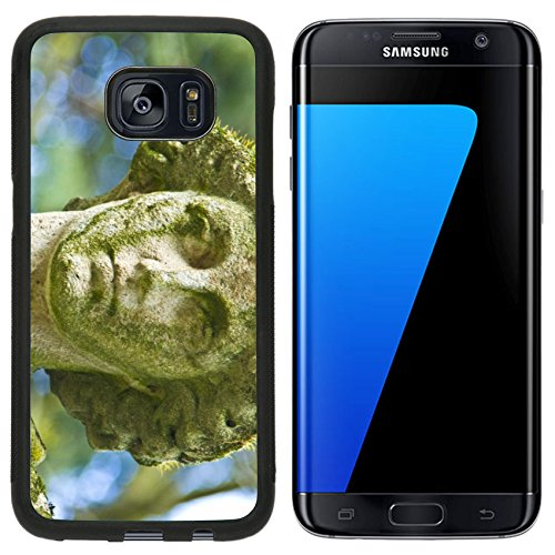 Liili Samsung Galaxy S7 Edge Aluminum Backplate Bumper Snap Case old tombstone on the Melaten cemetery in Cologne A Photo 10447099