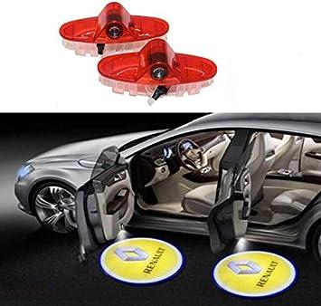 Sunshine Fly 2 unidades Auto para puerta Iluminación de logotipo ...