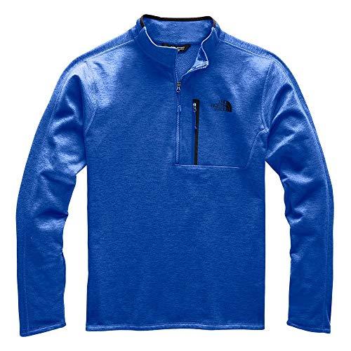 The North Face Men's Canyonlands Half Zip, TNF Blue Heather, XL