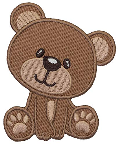 PatchMommy Iron On Patch, Baby Bear - Appliques for Kids Children