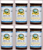 HSN-W Herbal Combination Supplement, 100 Capsules, 410 mg, Kosher (Six Pack)