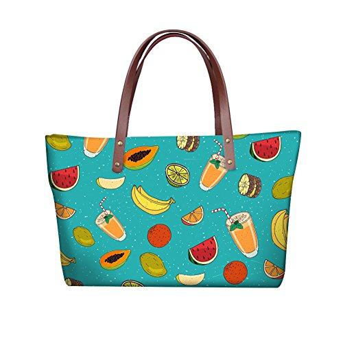 Bags Women FancyPrint Print School Foldable Fruit W8ccc5076al Wallets Purse Bags SXSpxqAaP