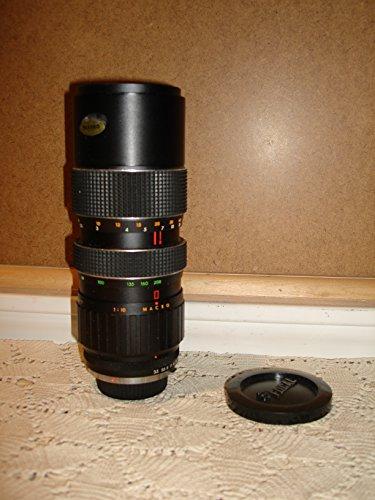 Focal MC Auto Zoom Lens w/Case No. 520081 80-200mm F3.5 Lens For Minolta MD Mount (Lens Camera Focal)