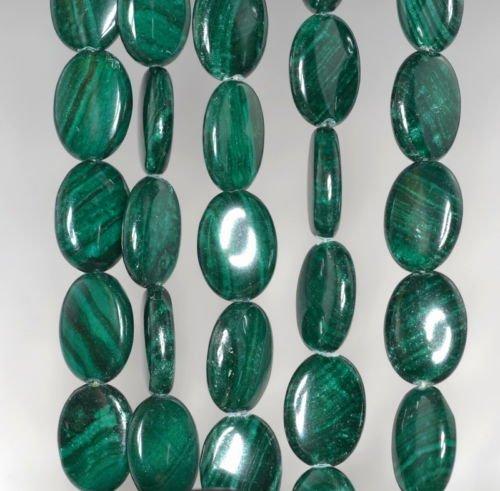 - 18X13MM Malachite Lace Jasper Gemstone Grade AA Oval Loose Beads 16'',