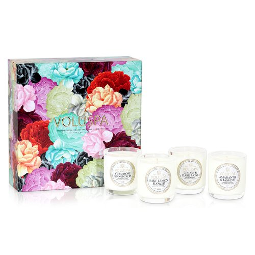 Voluspa Maison Jardin Collection Votive Candle Set, 1 ea ()