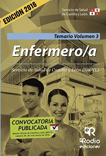 Enfermero/a. Temario. Volumen 3. Servicio de Salud de Castilla y León (Spanish Edition) (Servicio De Salud De Castilla Y Leon)