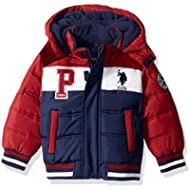 [Sponsored]U.S. Polo Assn. Boys' Bubble Jacket with Rib Knit Cuffs