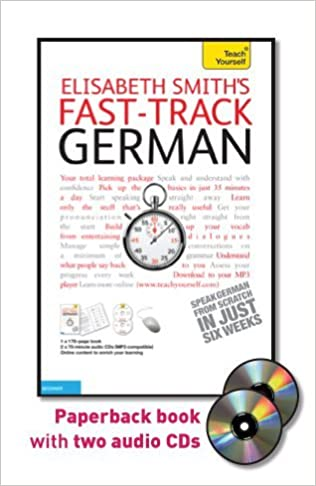 Fast In German >> Amazon Com Fast Track German With Two Audio Cds A Teach Yourself