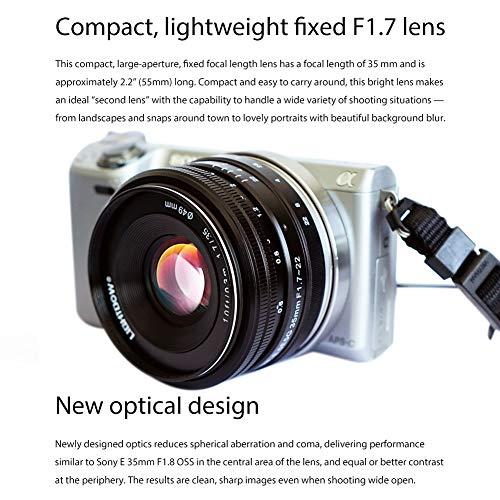 51Elmjd7WEL - Sony SEL35F18 35mm f/1.8 Prime Fixed Lens