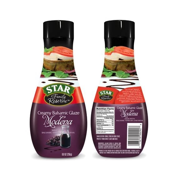 Star Family Reserve Creamy Balsamic Modena Glaze, 8.8 oz 1