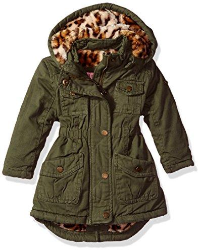 Republic Olive - Urban Republic Baby Girls Ur Cotton Twill Jacket, Dusty Olive 5808IDL, 18M